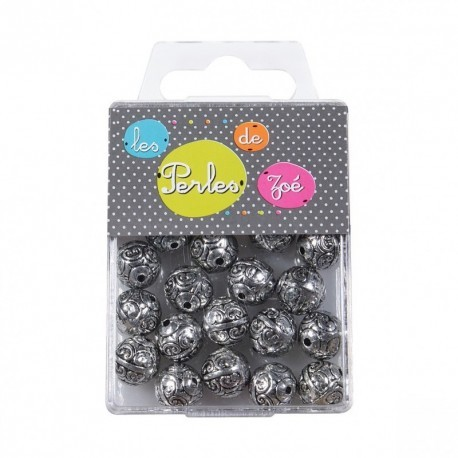 PERLES RONDES 11MM*20G