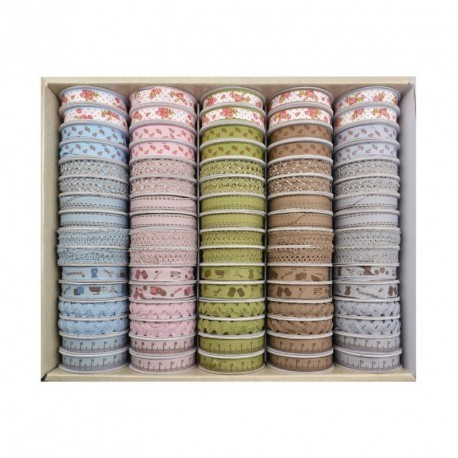 COFFRET 80 PCS HAND MADE