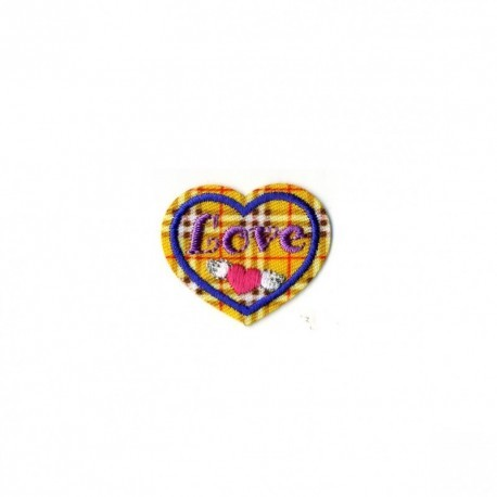 "S COEUR ""ECOSSAIS"" LOVE"