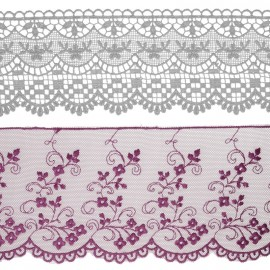 Embroideries & laces