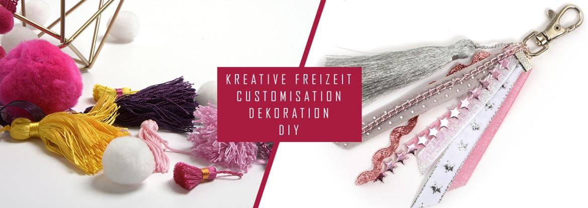KREATIVE - FREIZEIT - CUSTOMISATION - DEKORATION - DIY