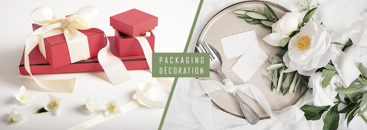 Packaging - Décoration