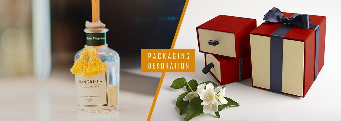 Packaging - Dekoration