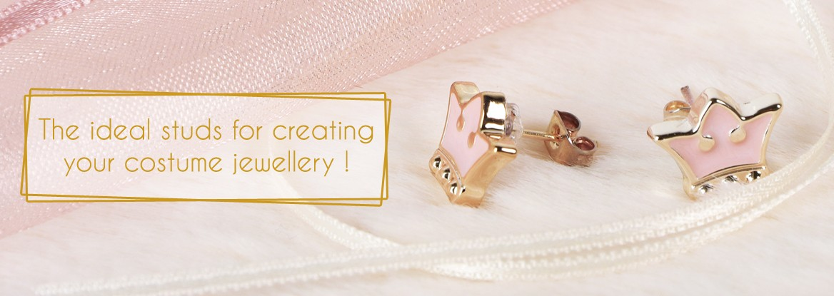 The ideal studs for creating your costume jewellery !