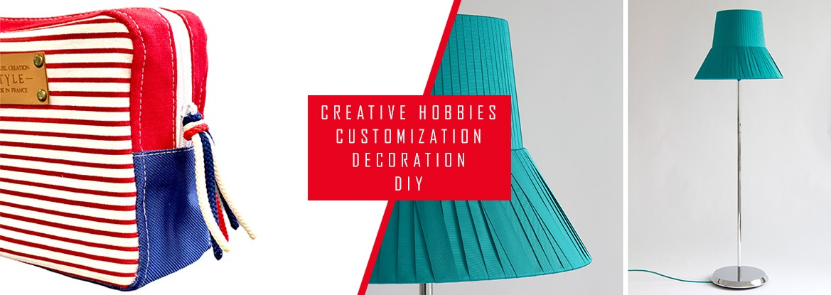 CREATIVE - HOBBIES - CUSTOMIZATION - DECORATION - DIY